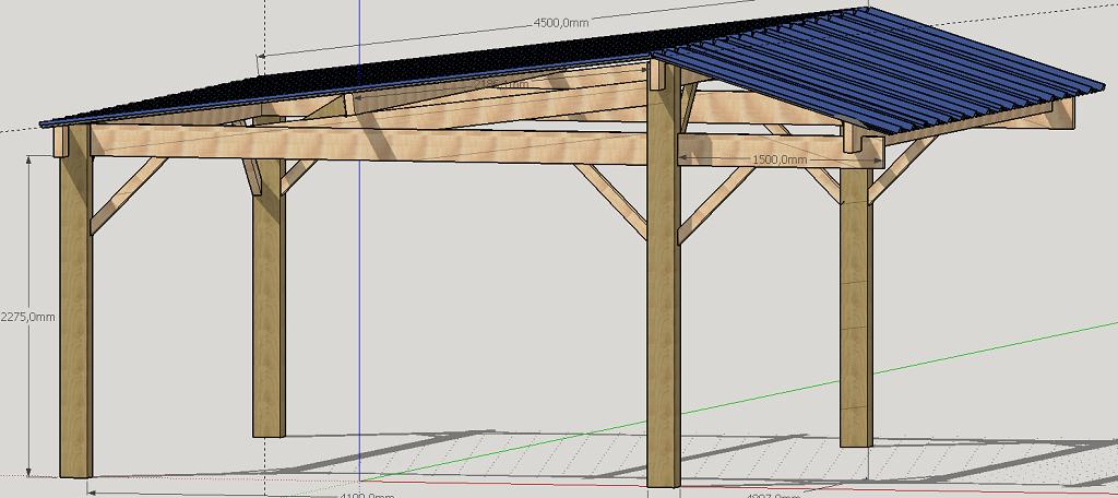 construire un abri bois