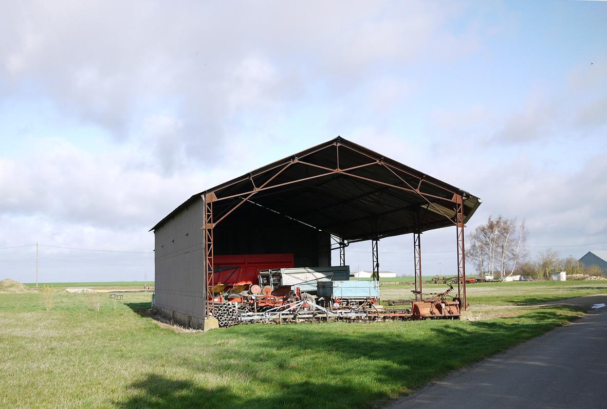 hangar agricole bois en kit