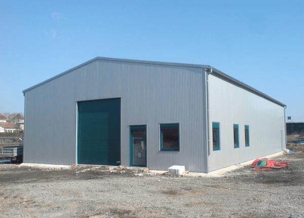 hangar agricole en kit bois