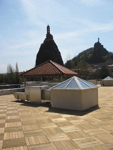 plots réglables pour terrasse