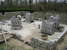 plot en ciment pour terrasse
