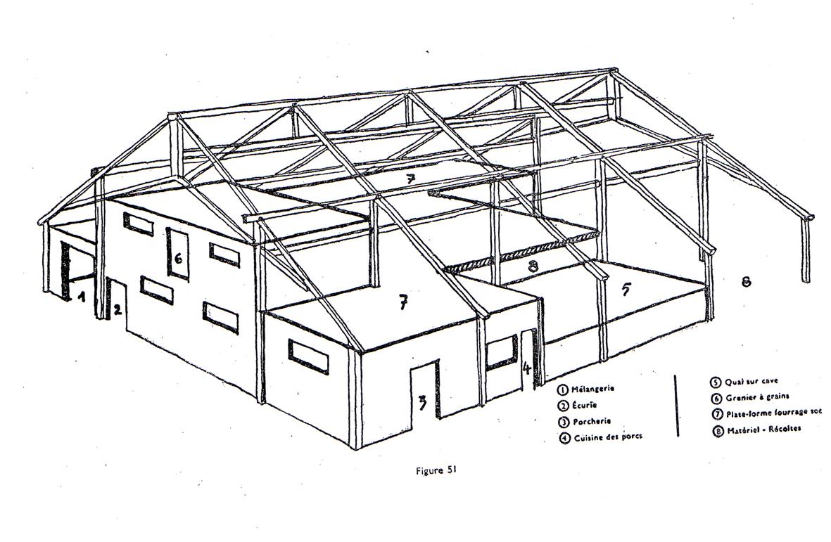 fabricant de hangar en bois